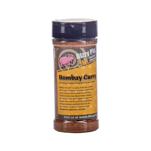 "Dizzy Pig ""Bombay Curry-ISH"" Spice Blend 8 oz."