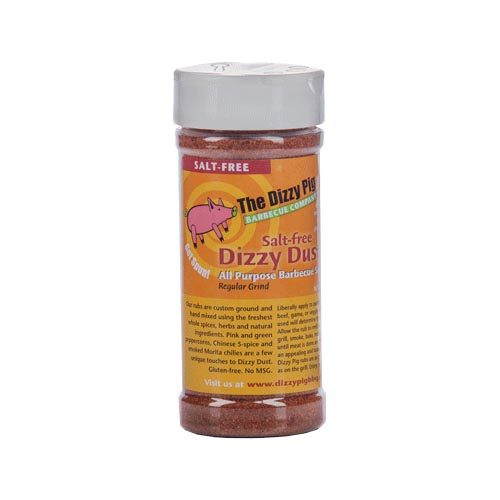 "Dizzy Pig SALT FREE ""Dizzy Dust"" BBQ Rub 8 oz."