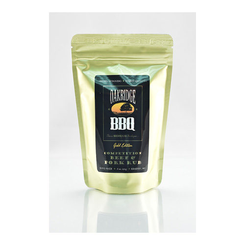 Oakridge BBQ Competition Beef & Pork Rub 6 oz.