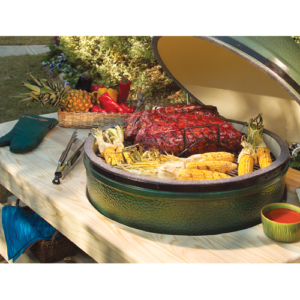 Big Green Egg Large in Table