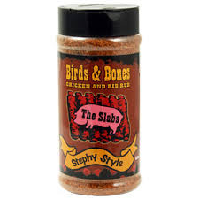 Slabs Birds and Bones Stephy Style BBQ Rub