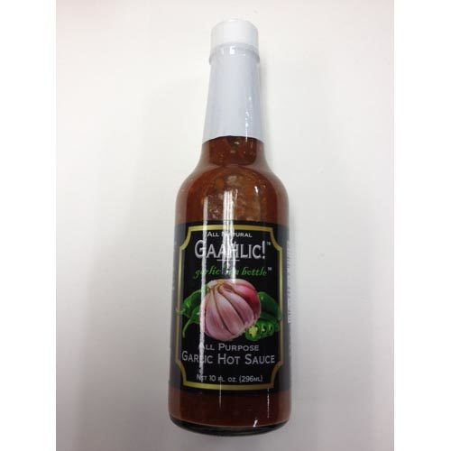 All Natural GAAHLIC! Garlic in a bottle Hot Sauce