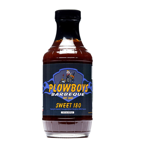 Plowboys BBQ Sweet 180 Sauce 16 oz.