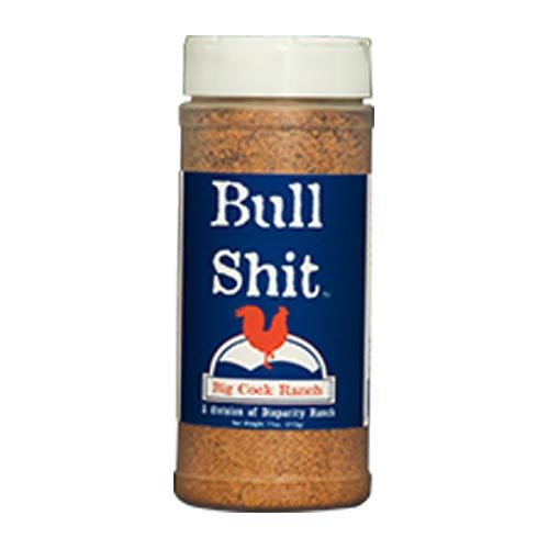 Bull Shit Steak BBQ Seasoning from Big Cock Ranch