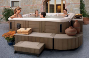 Designed and built by Marquis with the same exacting quality of craftsmanship and durable materials, the Environments perfectly complement your hot tub and add a higher level of sophistication to your environment.
