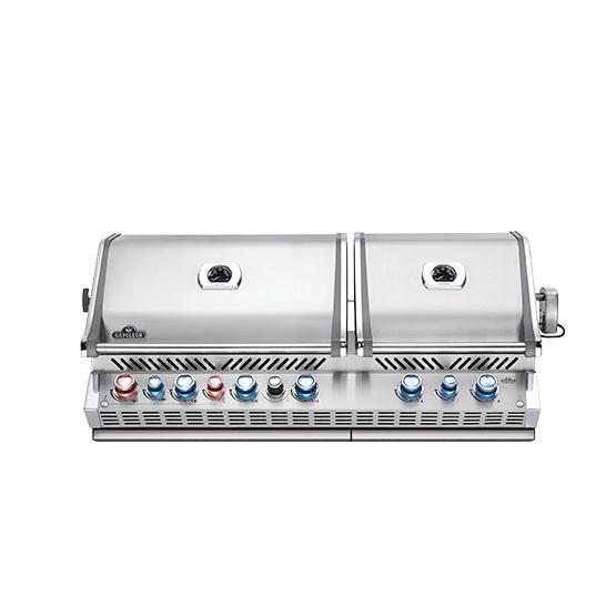 BUILT-IN PRESTIGE PRO™ 825 WITH INFRARED REAR BURNER