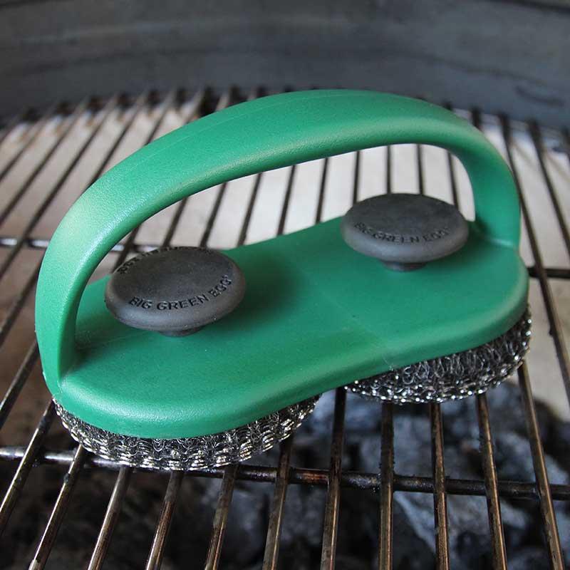 Dual Brush Grill Amp Pizza Stone Scrubber Hot Spot Bbqs