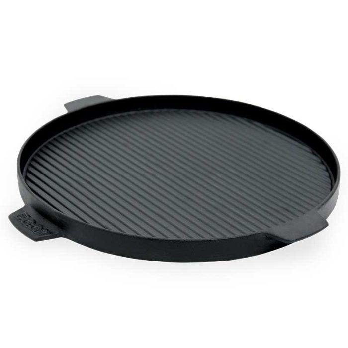 Big Green Egg 2-Sided Cast Iron Plancha Griddle