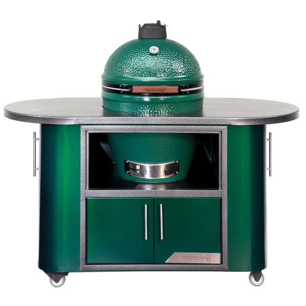 Big Green Egg Cooking Island