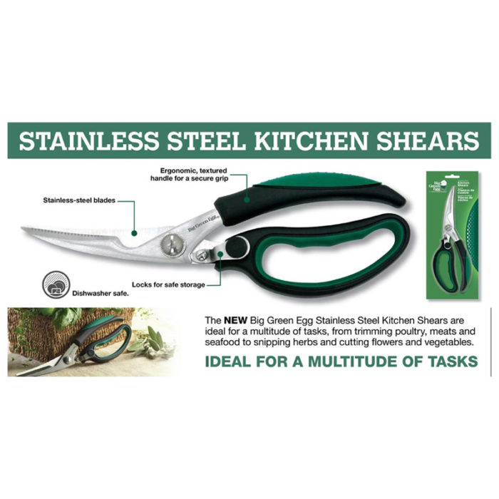 big green egg kitchen shears information
