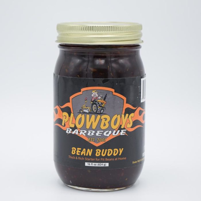 Plowboys BBQ Bean Buddy 16 oz.