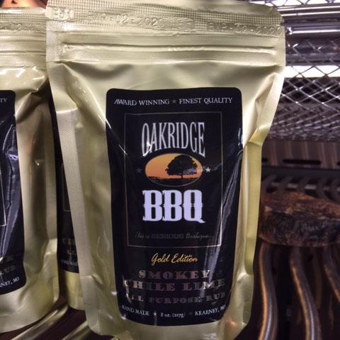 Oakridge BBQ bag Smokey chile lime
