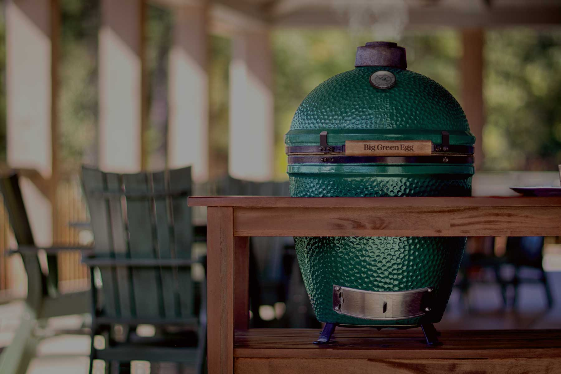 Big Green Egg - The Ultimate Cooking Experience - liberty hot spot - missouri hot tubs and grills