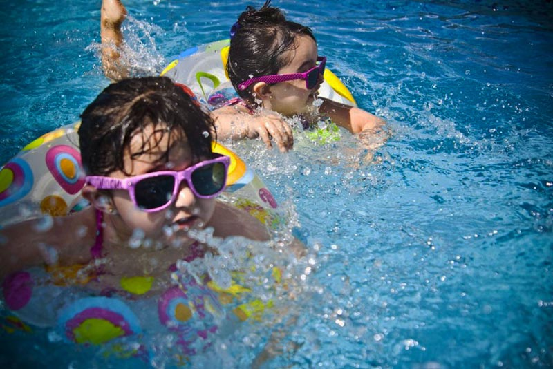 Kids enjoying the pool - Hot Spot Pools, Hot Tubs & BBQ - Liberty Missouri