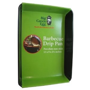 Big Green Egg non stick drip pan