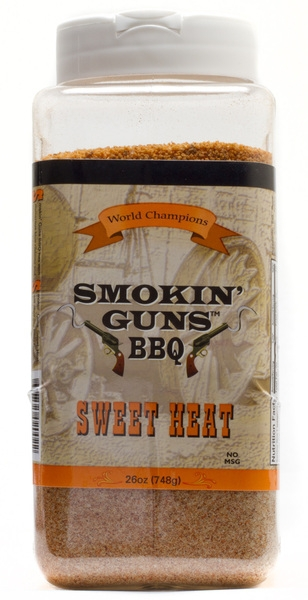 Smokin' Guns BBQ Sweet heat shaker