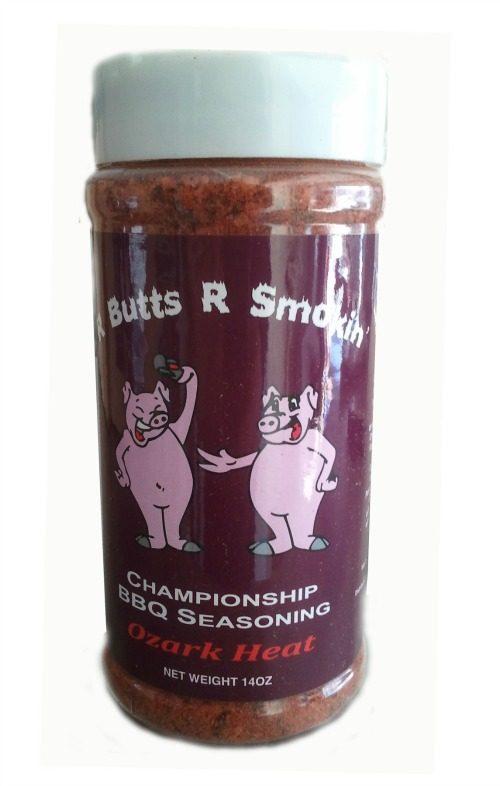 R Butts R Smokin BBQ Seasoning - Ozark Heat